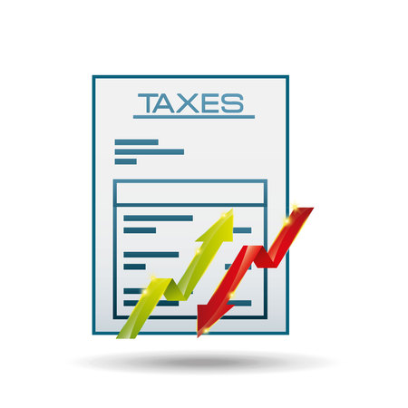 due: taxes due design, vector illustration eps10 graphic