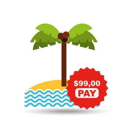 expenditure: travel expenses design, vector illustration eps10 graphic