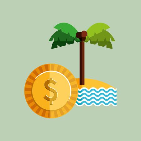 expenses: travel expenses design, vector illustration eps10 graphic