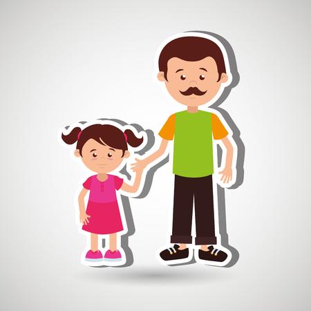 members: family members design, vector illustration eps10 graphic