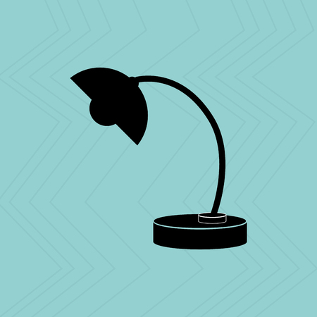 flexible business: desk lamp design, vector illustration eps10 graphic Illustration