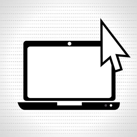 mouse pointer: mouse pointer design, vector illustration eps10 graphic Illustration