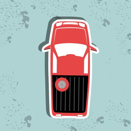 a public notice: parking sign design, vector illustration eps10 graphic