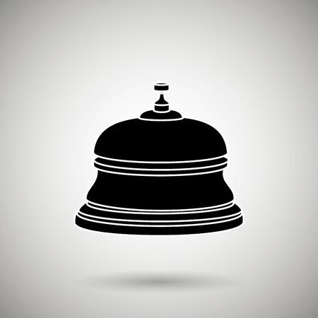 hotel bell: hotel bell design, vector illustration eps10 graphic