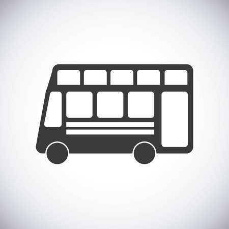 public safety: bus concept isolated design, vector illustration eps10 graphic Illustration