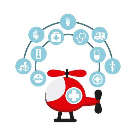 hôpital icône design, vecteur illustration graphique eps10