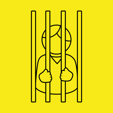 legislation: justice system design, vector illustration eps10 graphic