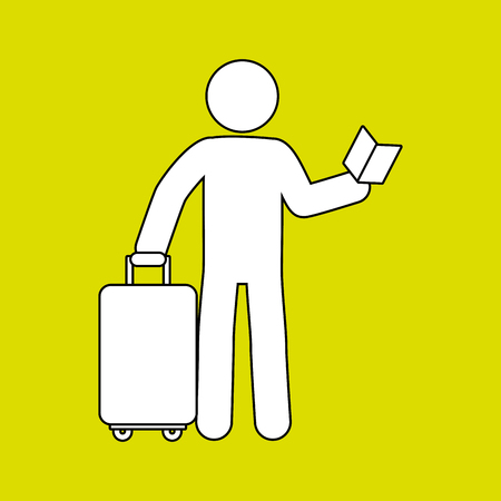 valise: suitcases isolated design, vector illustration eps10 graphic