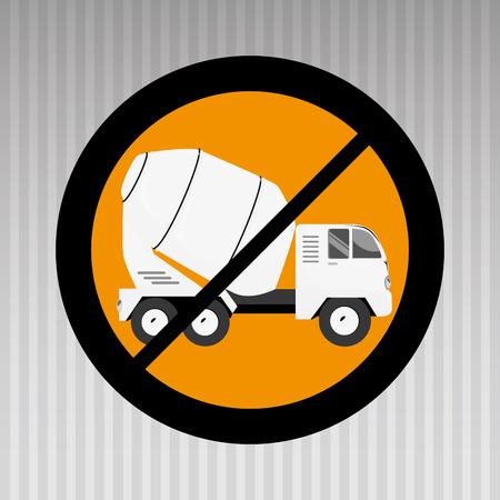 construction machinery: construction machinery design, vector illustration eps10 graphic