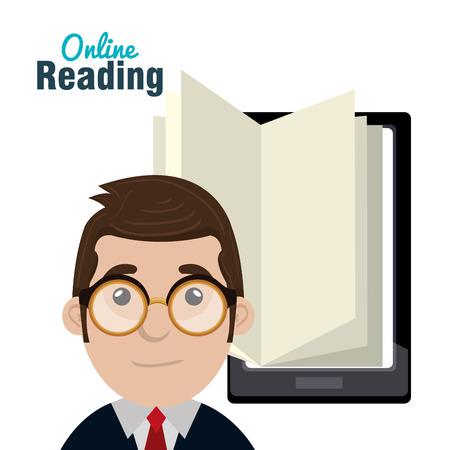 e magazine: read books online design,