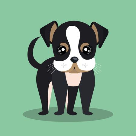 cute dog: cute dog design Illustration