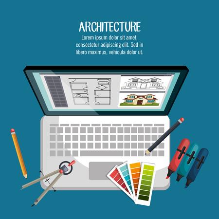 pallette: conception de travaux d'architecture,
