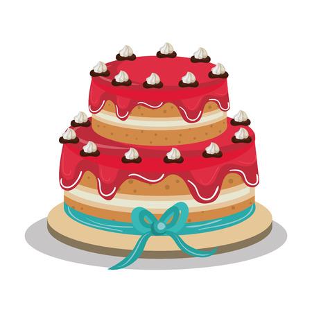 disegno deliziosa torta