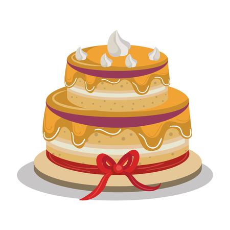 disegno deliziosa torta,