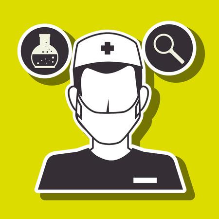 의료 의료 디자인, 벡터 일러스트 레이 션 eps10 그래픽