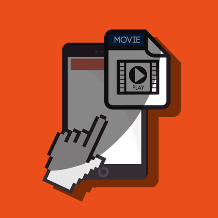 file format: file format design, vector illustration eps10 graphic Illustration