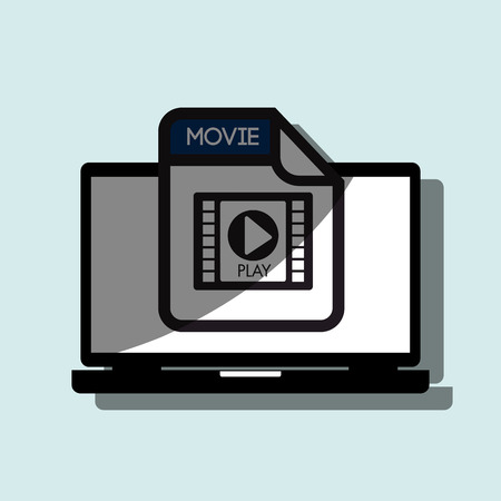 archive site: file format design, vector illustration eps10 graphic Illustration