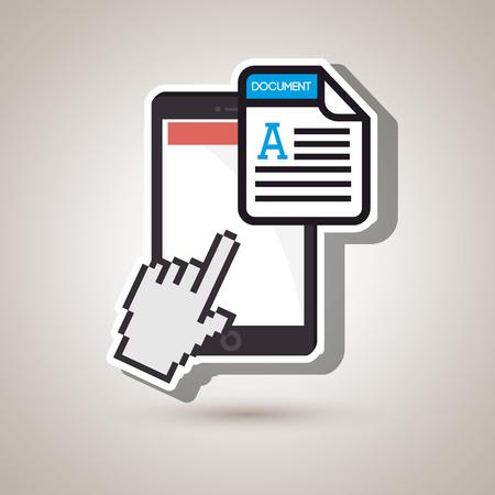 format: file format design, vector illustration