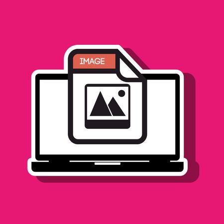 format: file format design, vector illustration eps10 graphic Illustration