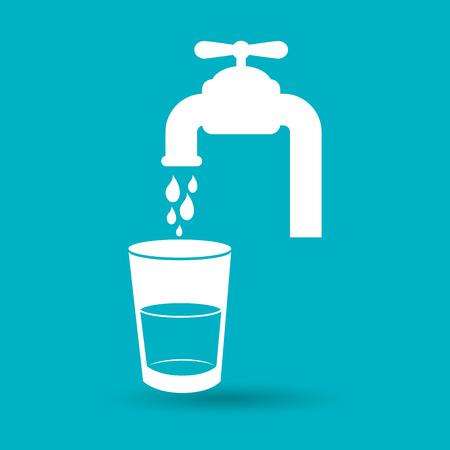 dispenser: tap water dispenser design, vector illustration eps10 graphic