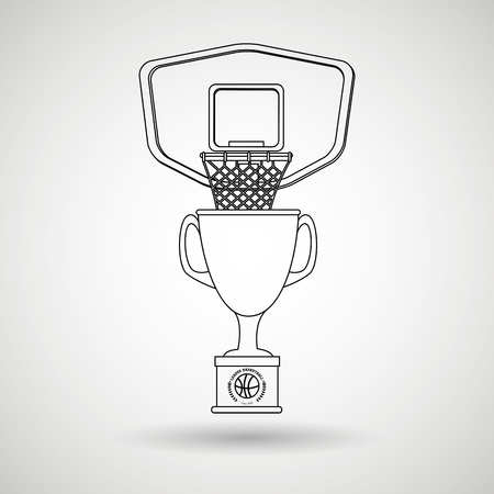 balon de basketball: dise�o de juegos de baloncesto, ejemplo gr�fico del vector eps10