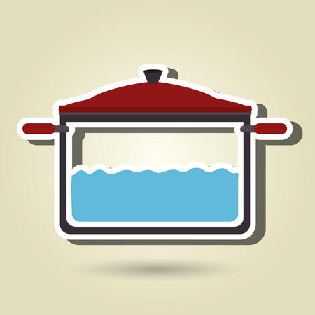 food preparation: food preparation instructions design, vector illustration eps10 graphic Illustration