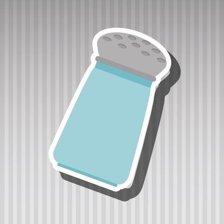 salt shaker: salt shaker design, vector illustration eps10 graphic