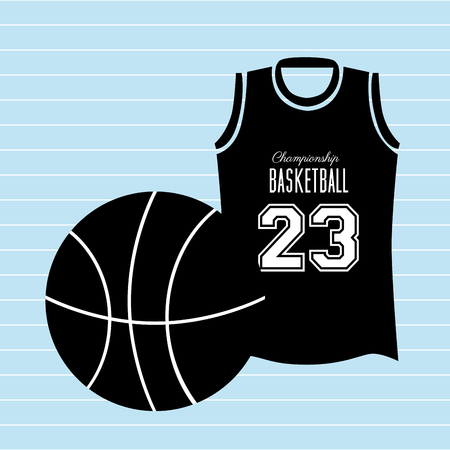 professional basketball league: basketball game design, vector illustration eps10 graphic