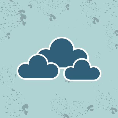 forecast: weather forecast design, vector illustration