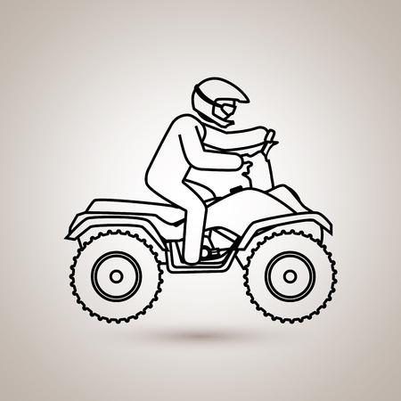 x sport: extreme sport design, vector illustration