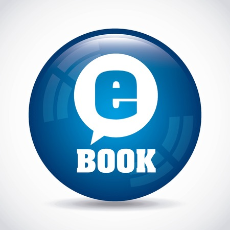 electronic book: electronic book design, vector illustration eps10 graphic