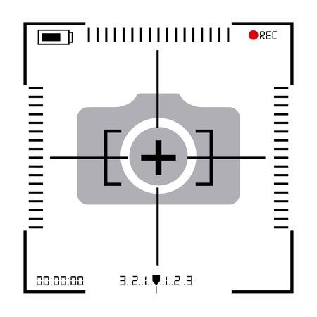 focus camera design, vector illustration eps10 graphic