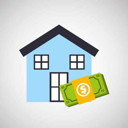 housing: investment housing design, vector illustration eps10 graphic