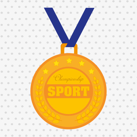 olimpic: olimpic medal design, vector illustration eps10 graphic Illustration