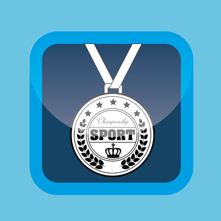olimpic: olimpic medal design, vector illustration  graphic