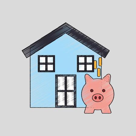 housing: investment housing design, vector illustration  graphic
