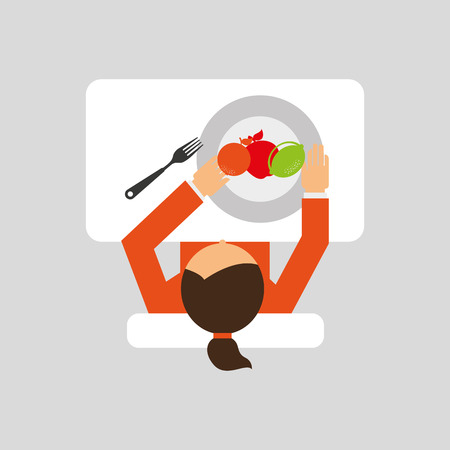 nutritive: Nutritive food design, vector illustration  graphic Illustration