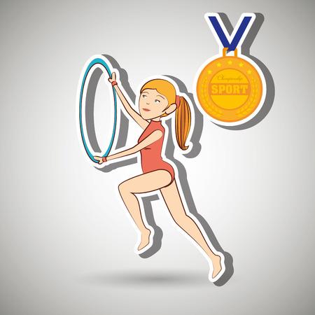 olimpic: olimpic sport  design, vector illustration eps10 graphic