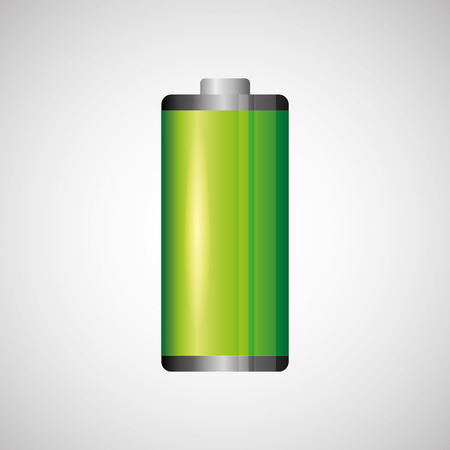petrol powered: battery power design, vector illustration  graphic