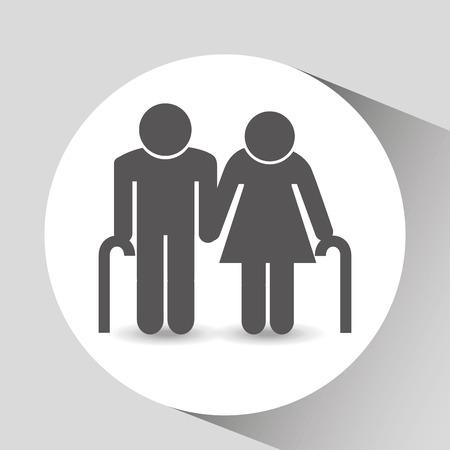 graphic illustration: family member design, vector illustration  graphic Illustration
