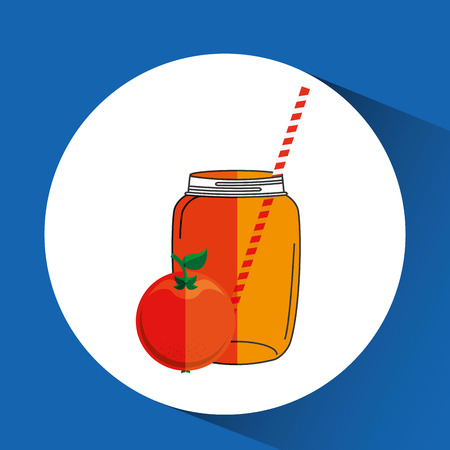 marmalade: smoothie fruit design, vector illustration  graphic Illustration