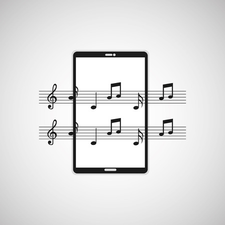 graphic illustration: music player  design, vector illustration  graphic Illustration