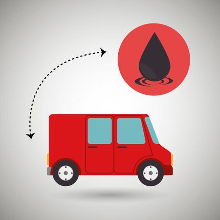 industrialization: oil industry design, vector illustration  graphic Illustration