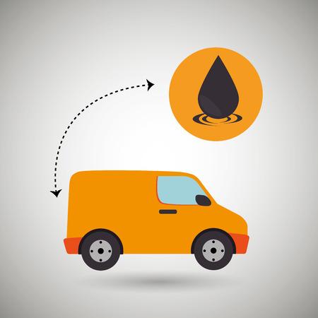petrochemical: oil industry design, vector illustration  graphic Illustration