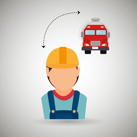 graphic illustration: oil industry design, vector illustration  graphic Illustration