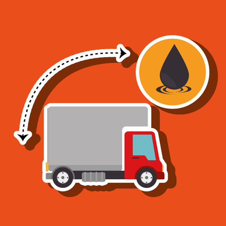 oil industry design, vector illustration eps10 graphic Illustration