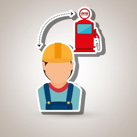 petrochemical: oil industry design, vector illustration eps10 graphic Illustration