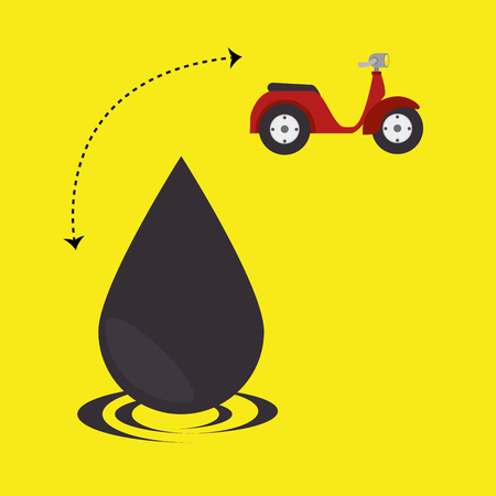 industrialization: oil industry design, vector illustration eps10 graphic Illustration