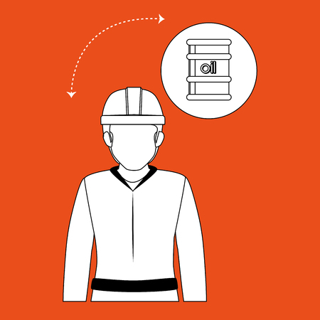 industrialization: oil industry design, vector illustration eps10 graphic Illustration