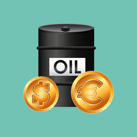 energy crisis: oil prices design, vector illustration eps10 graphic